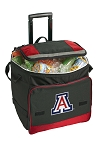 Arizona Wildcats Rolling Cooler Bag Red