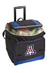 Arizona Wildcats Rolling Cooler Bag Blue