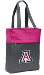 Arizona Wildcats Tote Bag Everyday Carryall Pink