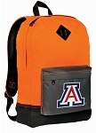 Arizona Wildcats Backpack Classic Style Cool Orange