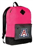 Arizona Wildcats Backpack Classic Style HOT PINK