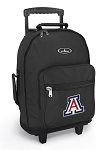 Arizona Wildcats Rolling Backpacks Black