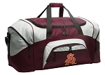 Large ASU Duffle Bag Maroon