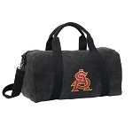 ASU Duffel RICH COTTON Washed Finish Black