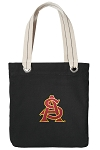 ASU Tote Bag RICH COTTON CANVAS Black
