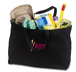 ASU Jumbo Tote Bag Black