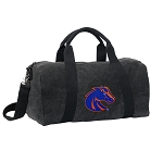 Boise State Duffel RICH COTTON Washed Finish Black