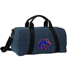 Boise State Duffel RICH COTTON Washed Finish Blue