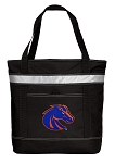 Boise State Insulated Tote Bag Black