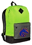 Boise State Backpack Classic Style Fashion Green