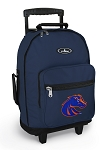 Boise State Rolling Navy Backpacks
