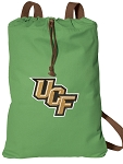 UCF Cotton Drawstring Bag Backpacks Cool Green