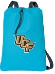 UCF Cotton Drawstring Bag Backpacks Blue