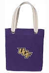 UCF Tote Bag RICH COTTON CANVAS Purple