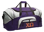 LARGE Chi Omega Duffle Bags & Gym Bags