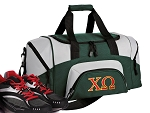 Chi O Small Duffle Bag Green