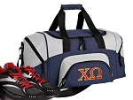 Chi O Small Duffle Bag Navy