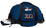 Chi O Duffle Bag Navy
