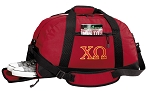 Chi O Duffle Bag Red