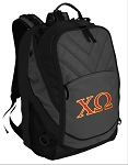 Chi O Deluxe Laptop Backpack Black