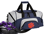 SMALL Clemson University Gym Bag Clemson Tigers Duffle Navy