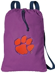 Clemson Tigers Drawstring Backpack