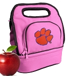 Clemson Lunch Bag Pink
