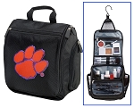 Clemson University Toiletry Bag or Clemson Tigers Shaving Kit Travel Organizer for Men