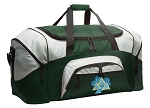 Tri Delt Duffle Bag Green