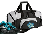 Small Tri Delta Gym Bag or Small Tri Delt Sorority Duffel