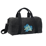 Tri Delt Duffel RICH COTTON Washed Finish Black