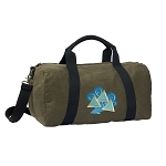 Tri Delt Duffel RICH COTTON Washed Finish Khaki
