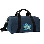 Tri Delt Duffel RICH COTTON Washed Finish Blue