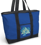 Tri Delt Blue Tote Bag