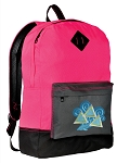 Tri Delt Backpack HI VISIBILITY Pink CLASSIC STYLE