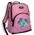 Tri Delt Pink Backpack