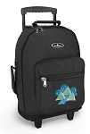 Tri Delt Rolling Backpacks Black