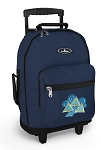 Tri Delt Rolling Navy Backpacks
