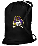 ECU Pirates Laundry Bag Black