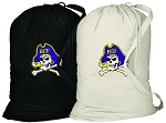 ECU Pirates Laundry Bags 2 Pc Set