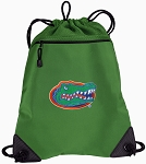 University of Florida Drawstring Backpack Mesh and Microfiber