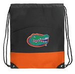Florida Gators Drawstring Backpack Bags Orange