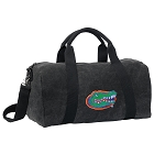 Florida Gators Duffel RICH COTTON Washed Finish Black