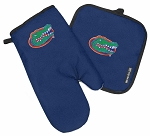 University of Florida Oven Mitt Potholder Set Blue