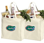 University of Florida Shopping Bags Florida Gators Grocery Bags 2 PC SET