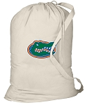 University of Florida Laundry Bag Natural