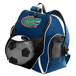 Florida Gators Soccer Ball Backpack