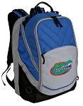University of Florida Deluxe Computer Backpack Blue