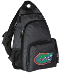Florida Gators Backpack Cross Body Style Gray