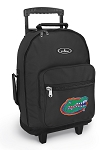 Florida Gators Rolling Backpacks Black